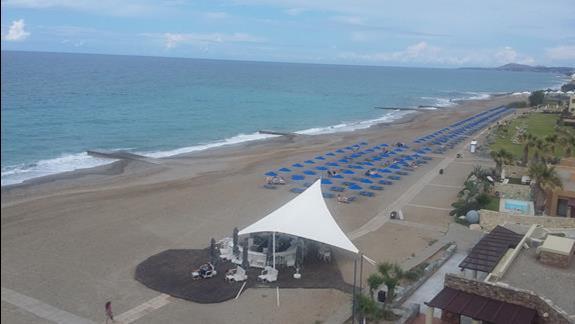 Aquila Rithymna Beach plaża 1