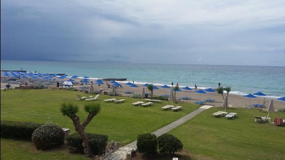 Aquila Rithymna Beach plaża 2