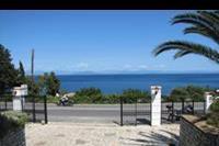 Hotel Lido Corfu Sun - Widok na morze od wejscia do hotelu