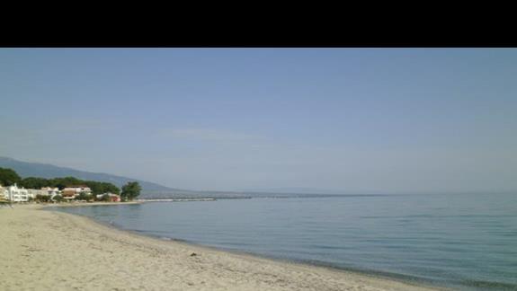 plaża przy hotelu Sun Beach