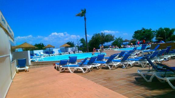 Best Mojacar teren przy basenie