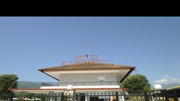 front hotelu Afroditi