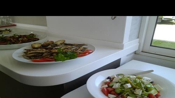 jedzenie w hotelu Afrodtii