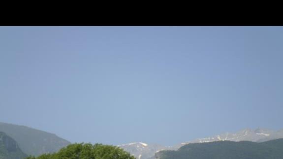 widok z hotelu Afroditi