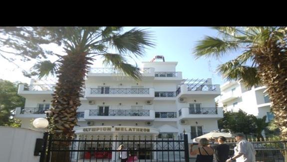 front hotelu Olympian Melathron