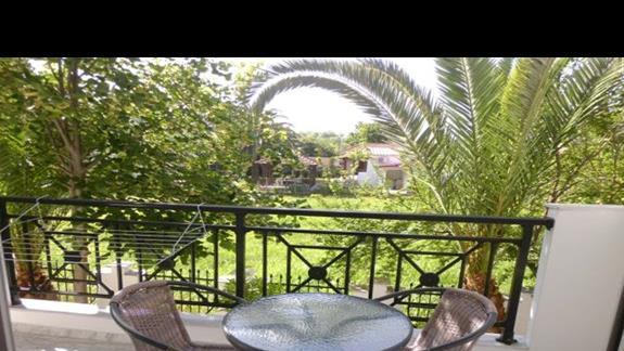 balkon w hotelu Olympian Melathron
