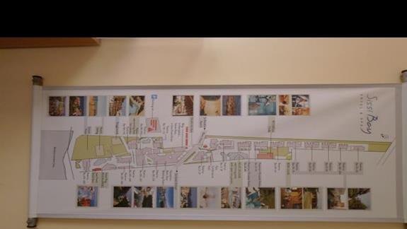 plan hotelu Sissi Bay