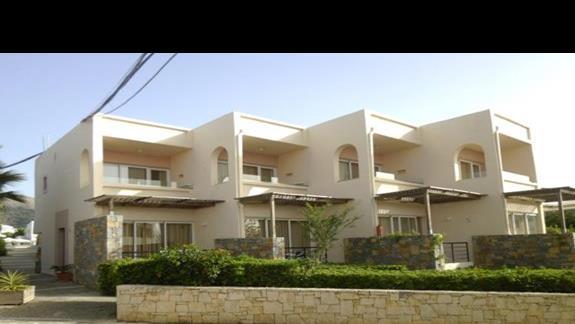 budynki hotelowe Sissi Bay