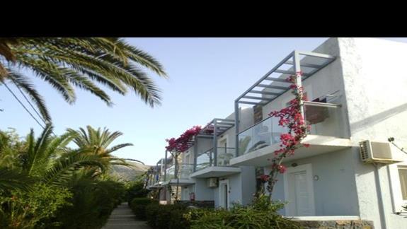 budynek hotelu Sissi Bay
