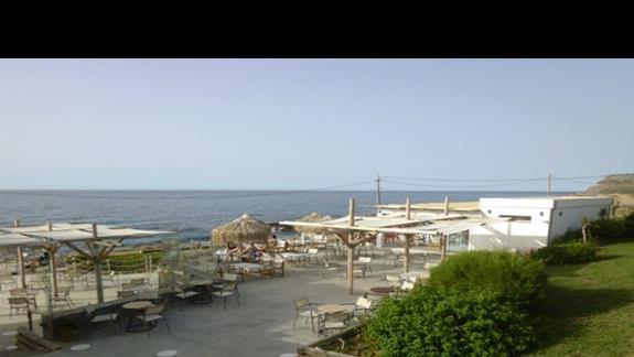 przejście na plażę Sissi Bay