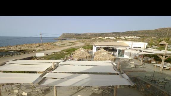 bar przy morzu w hotelu Sissi Bay