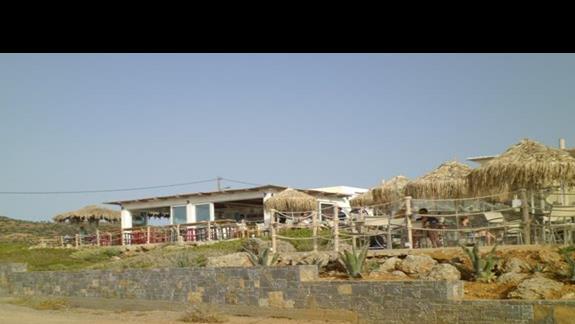 widok baru przy morzu hotelu Sissi Bay