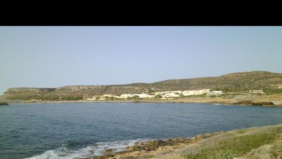 widok plaży przy hotelu Sissi Bay