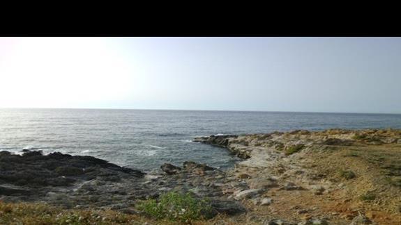 widok z hotelu Sissi Bay