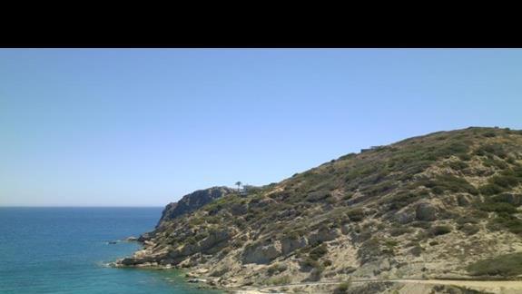 widok z terenu hotelowego Istron Bay