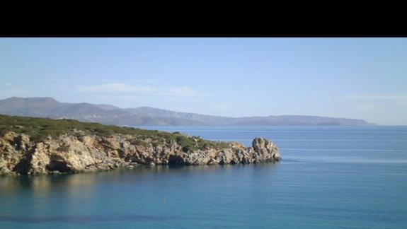 widoki z hotelu Istron Bay