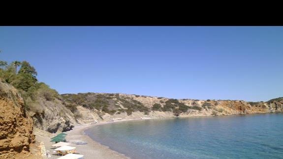 plaża hotelu Istron Bay
