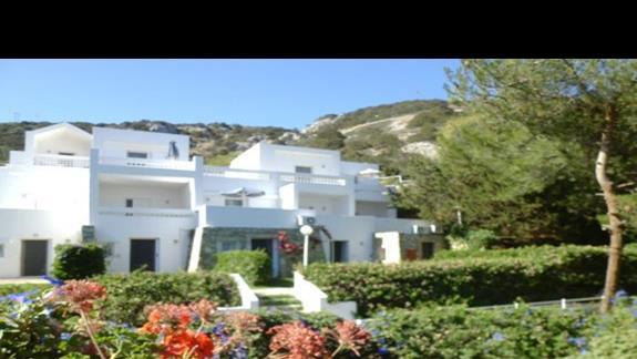 ogród hotelu Istron Bay