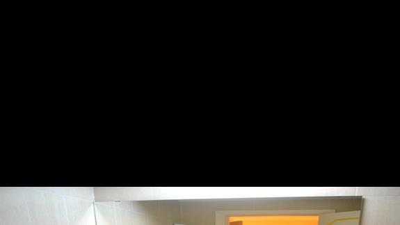 Łazienka, pokój standardowy hotel Simar