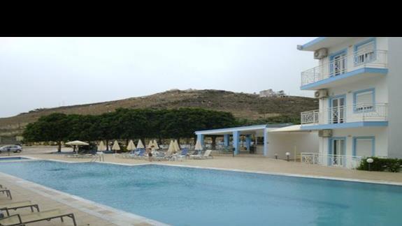 basen w hotelu Nicolas Vilas