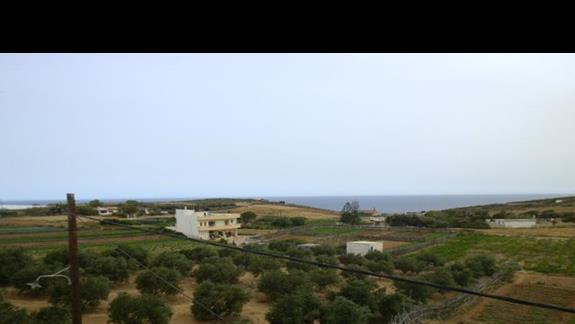 widok na okolice z hotelu Nicolas Villas