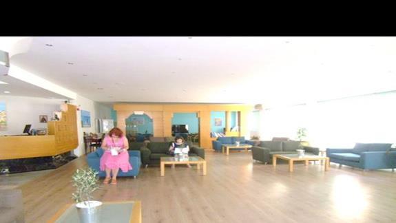 recepcja w hotelu Rethymno Mare