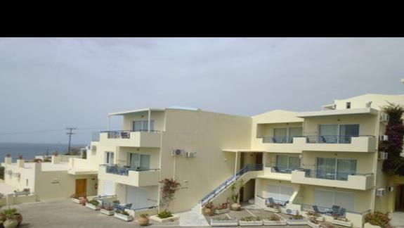 budynki hotelu Rethymno Mare