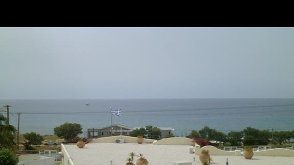 widok z hotelu Rethymno Mare