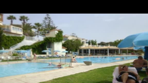 basen przy hotelu Rethymno Mare