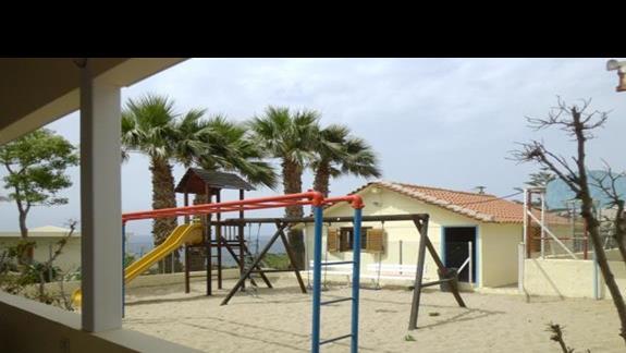 plac zabaw w hotelu Rethymno Mare