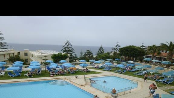 basen w hotelu Rethymno Mare