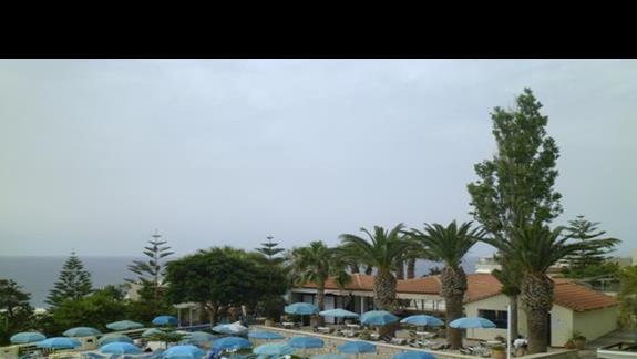 widok na basen Rethymno Mre