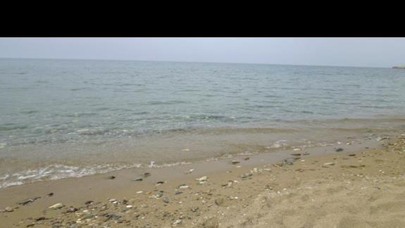 plaża w okolicy hotelu Rethymno Mare