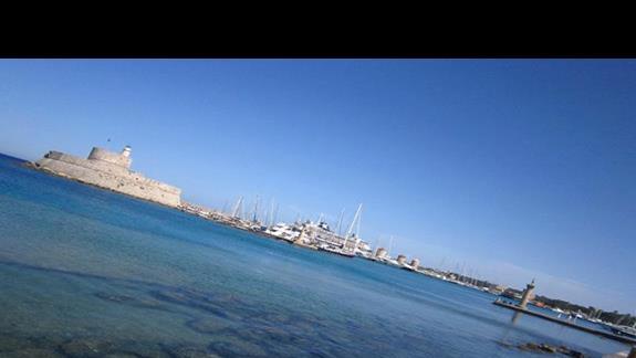 Rodos port Mandraki