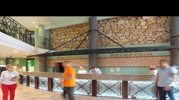 Hotel Hrizantem - recepcja