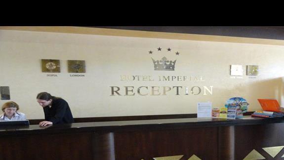 Hotel Imperial - recepcja