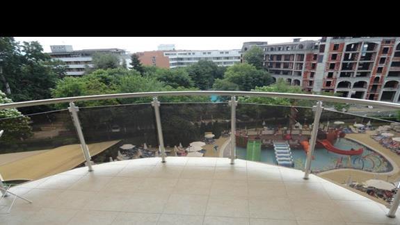 Laguna Park - balkon w pokoju