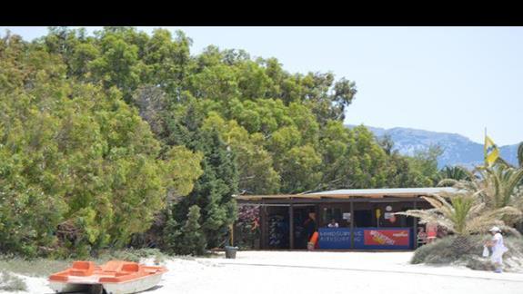 centrum sportów wodnych w hotelu Caravia Beach & Bungalows