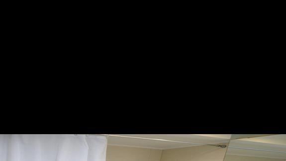 łazienka w pokoju standardowym w hotelu Caravia Beach & Bungalows