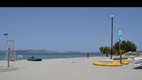 plaża w hotelu Caravia Beach & Bungalows