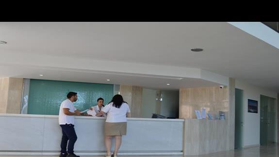 recepcja w hotelu Caravia Beach & Bungalows