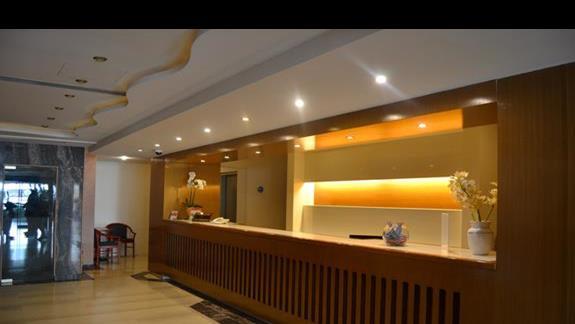 recepcja w hotelu Lomeniz