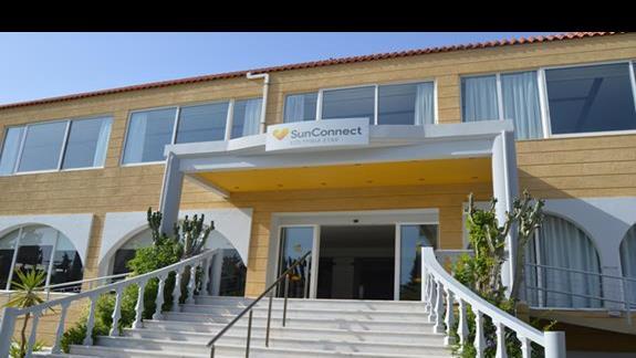 hotel SunConnect Kolymbia Star od frontu
