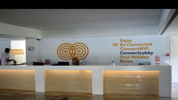recepcja w hotelu SunConnect Kolymbia Star