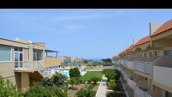 widok z pokoju standardowego w hotelu SunConnect Kolymbia Star