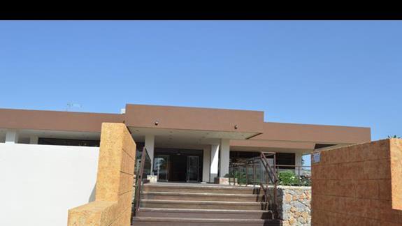 hotel Anavadia od frontu