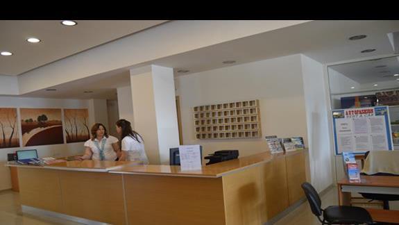 recepcja w hotelu Anavadia