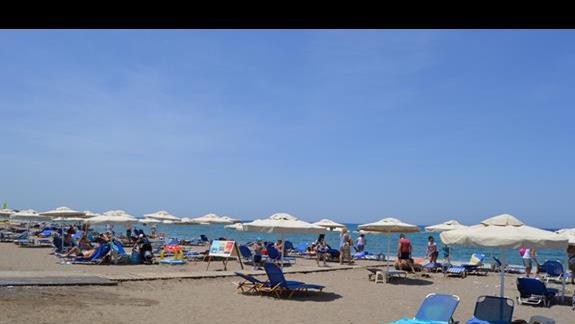 plaża  hotelu Doreta Beach