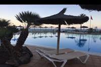 Hotel SBH Club Paraiso Playa - Zmierzch nad basenem