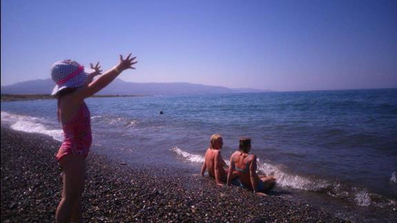 Plaża przy hotelu ... Świat jest mój !!!